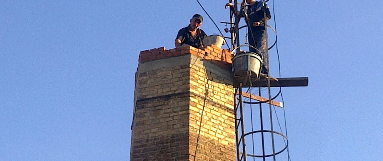anacija i zidanje šestougaonog dimnjaka u Nišu