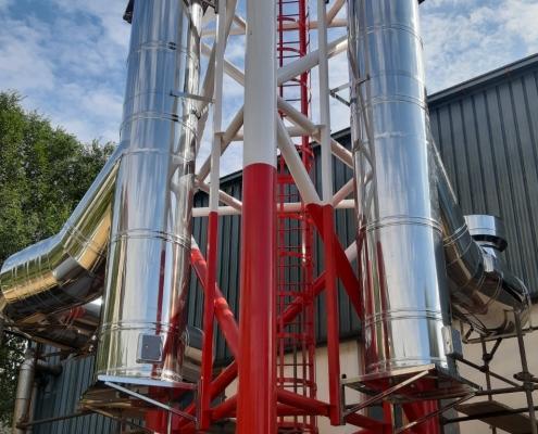 Ugradnja Schiedel dimnjaka TO Resnik